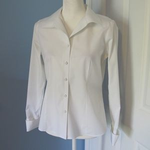 Talbots long sleeve button down blouse Size - 8P